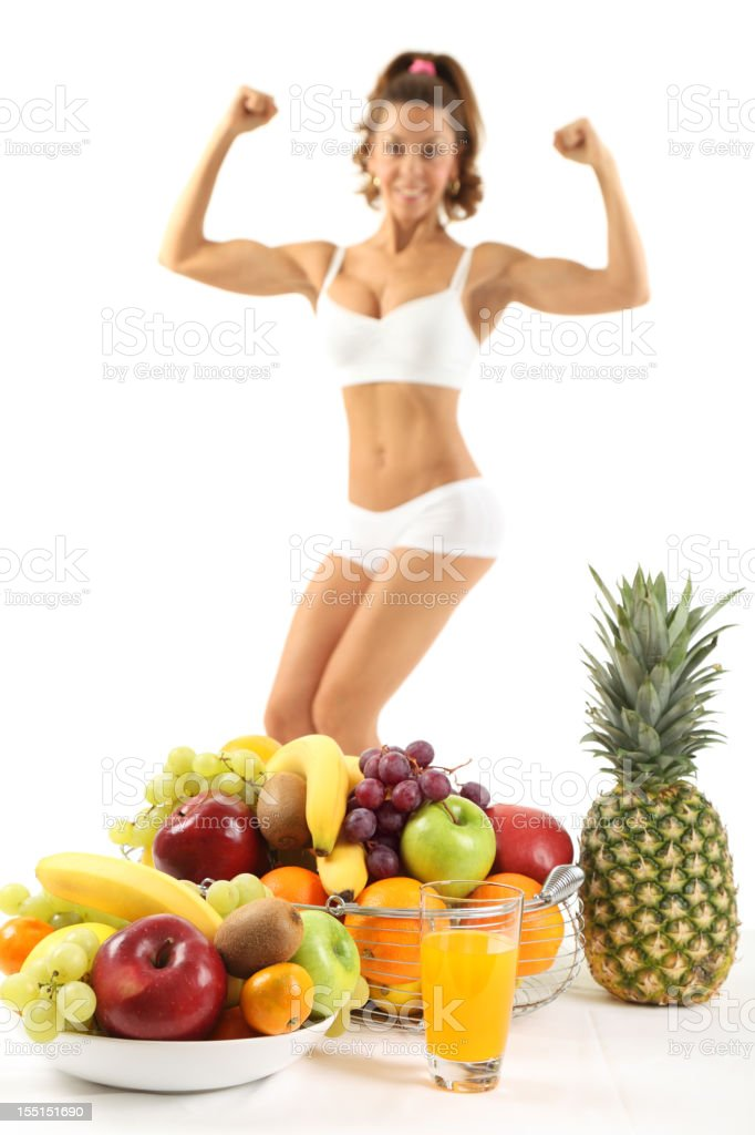The power of fruit royalty-free stock photo