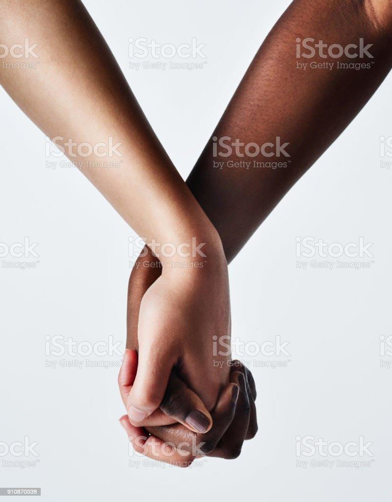 El poder del amor está en tus manos - foto de stock