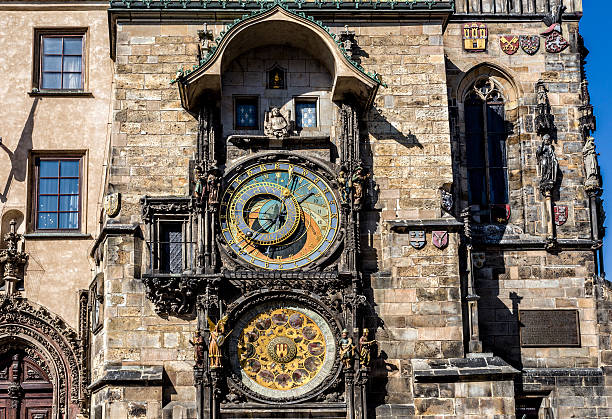 The Prague astronomical clock, or Prague orloj The Prague astronomical clock, or Prague orloj, is a medieval astronomical clock. Czech Republic, 2014 astronomical clock stock pictures, royalty-free photos & images