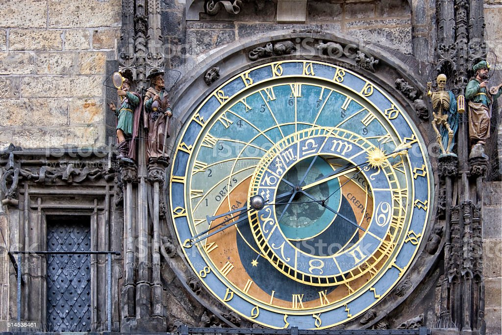 The Prague Medieval Astronomical Clock Czech Republic Stock Photo Download Image Now Istock