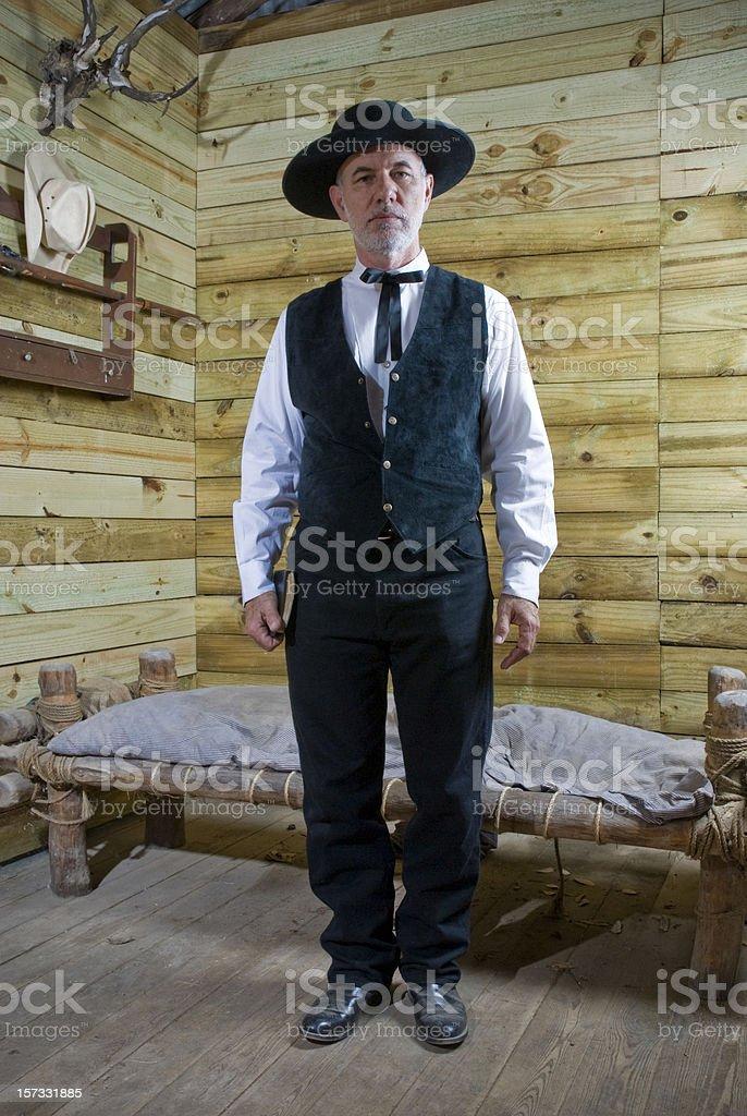 The Preacher stock photo