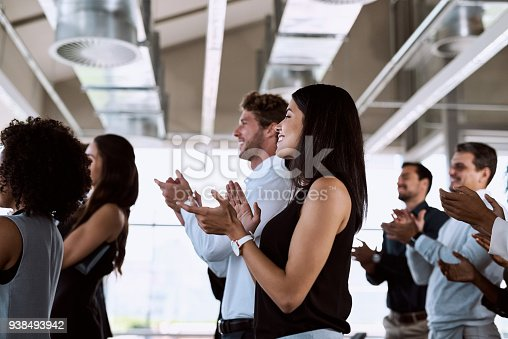 istock The presentation that packed a punch 938493942