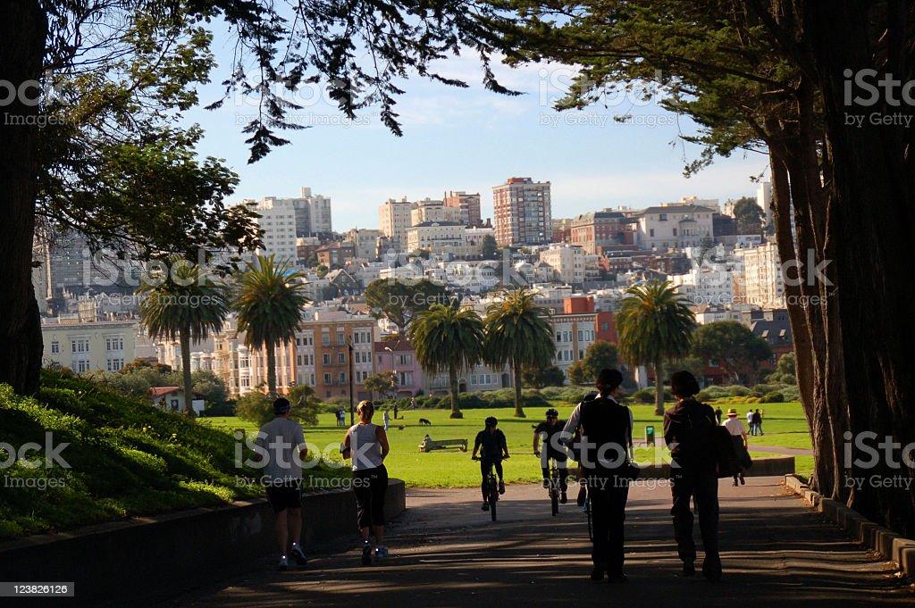 The Presidio in San Francisco stock photo