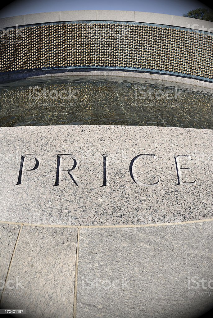 The Price stock photo