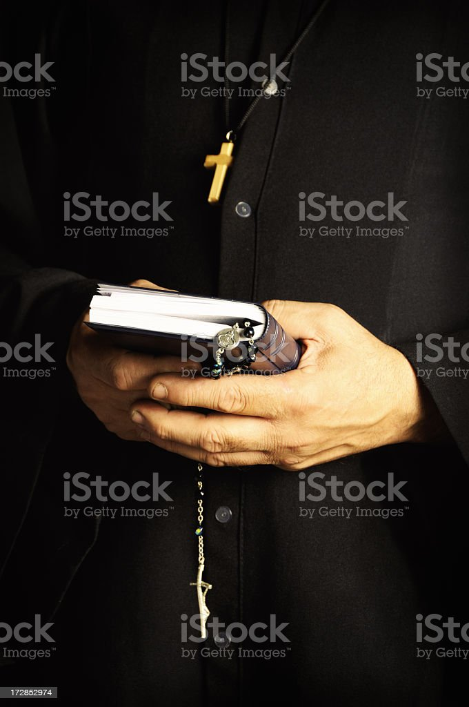 The Priest royalty-free stock photo