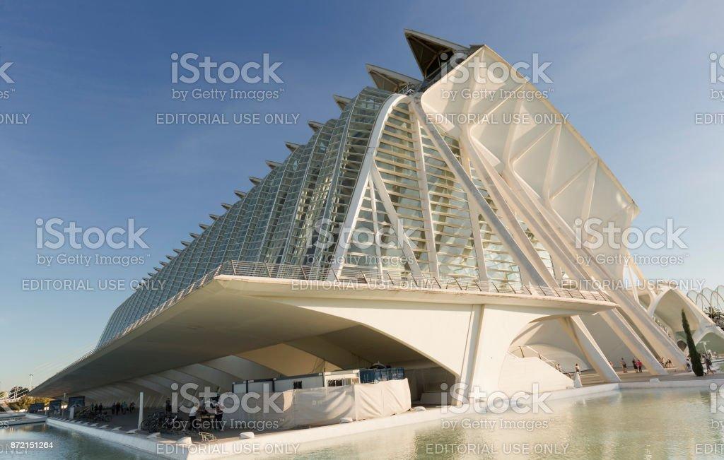 The Prince Felipe Science Museum stock photo