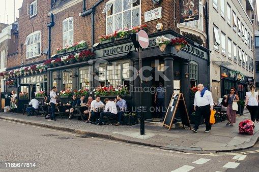 512860403 istock photo The Prince of Wales Pub, London, UK 1165677814