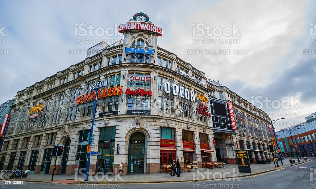 The Printworks - Manchester stock photo