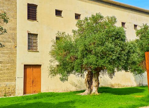 エルプエルトデサンタマリアの刑務所カディスアンダルシアスペイン ...