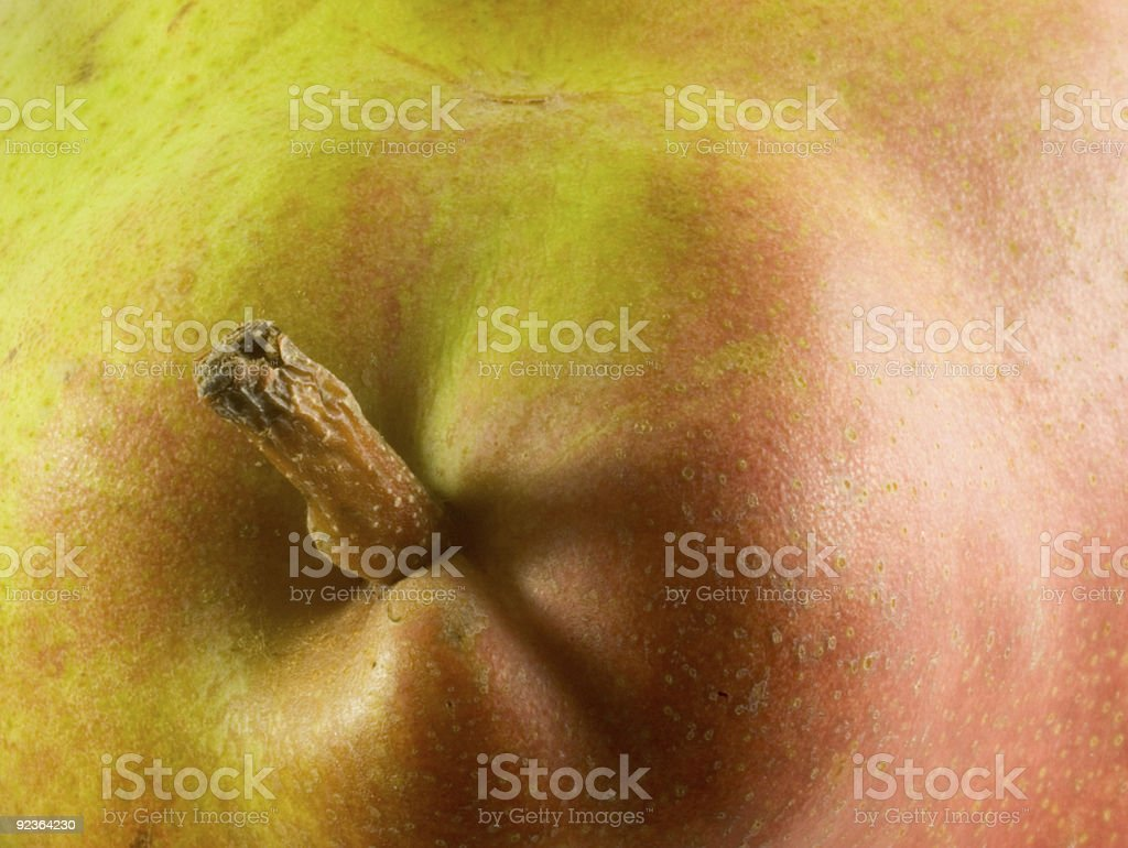 The Problem with Pears 4 royalty-free stock photo