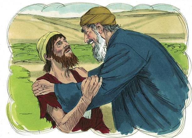 The Prodigal Son stock photo