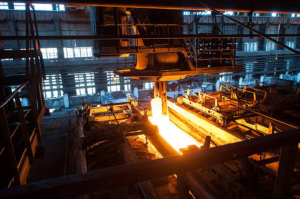 the production process in the rolling mill - roll tide stock-fotos und bilder