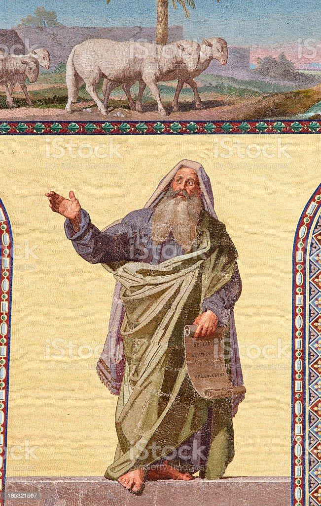 The prophet Daniele stock photo