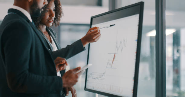 The pros in profit creation stock photo