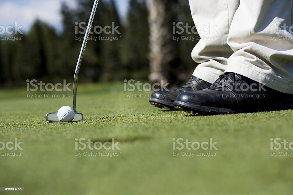 The Putt II royalty-free stock photo