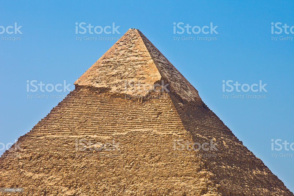 The Pyramid of Khafre stock photo