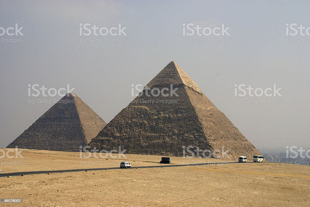 The Pyramids Giza royalty-free stock photo