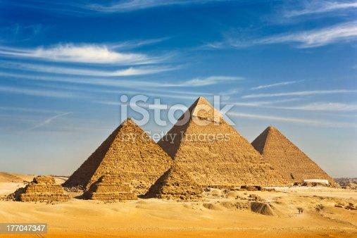 istock The Pyramids of Giza 177047347