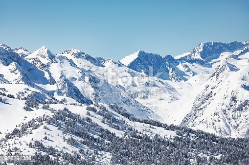 istock The Pyrenees mountains in winter in Val d Aran Catalonia Spain 926291386