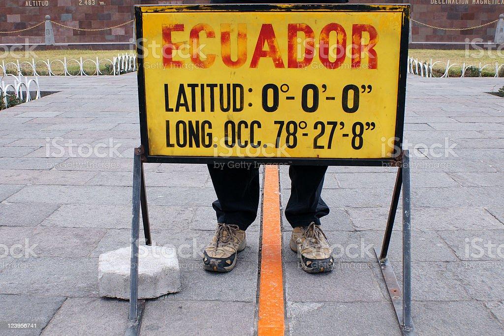 the Äquator stock photo