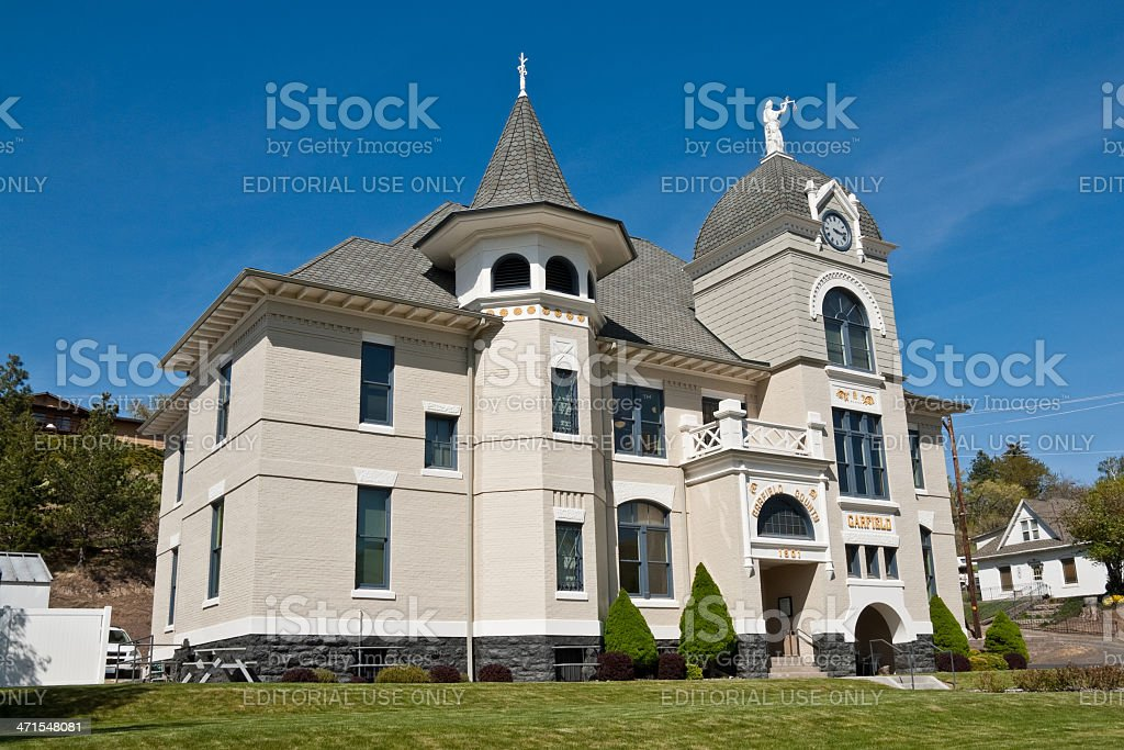 Garfield County Courthouse - Royalty-free Architecture Stock Photo
