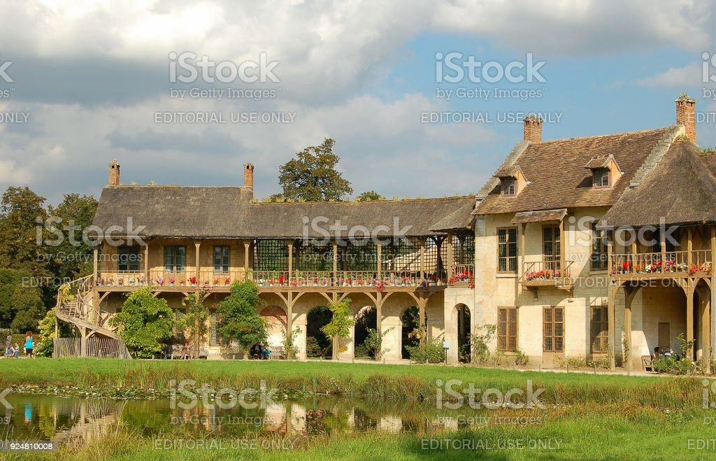 The Queen's Hamlet - Versailles stock photo