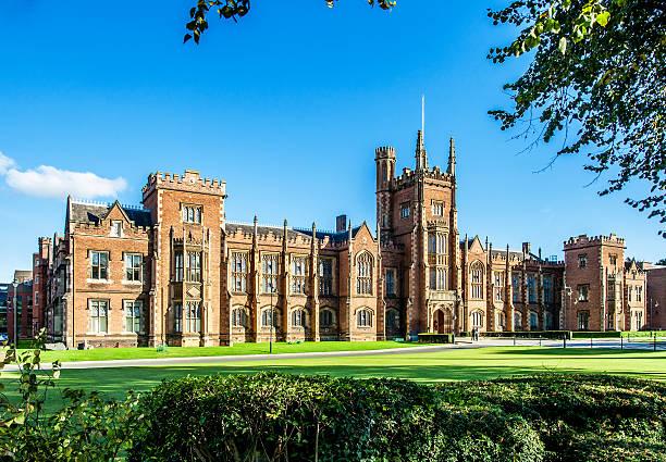 The Queen's University of Belfast - foto de stock