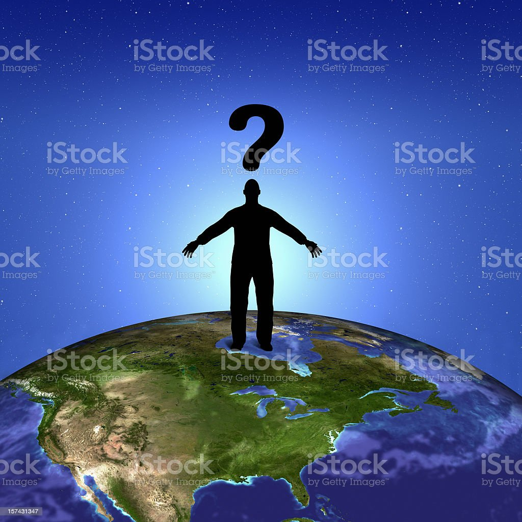 The question royalty-free stock photo