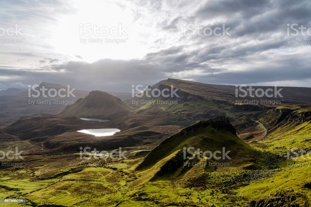 Quiraing royalty-free stock photo