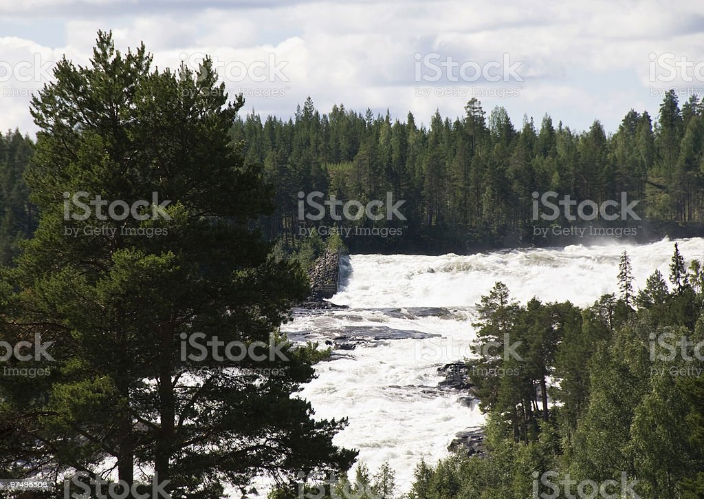 "The  ""Grand Rapid"" - Sweden royalty-free stock photo"