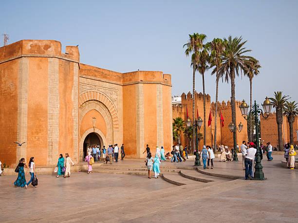 the rabat medina in morocco - rabat marocko bildbanksfoton och bilder