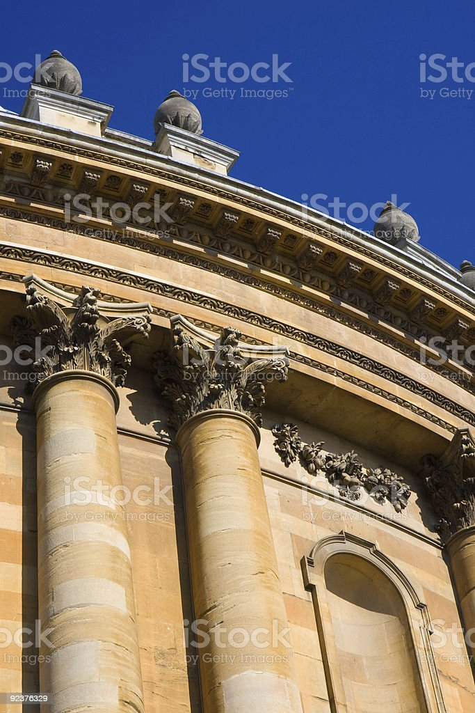 The Radcliffe Camera Oxford royalty-free stock photo