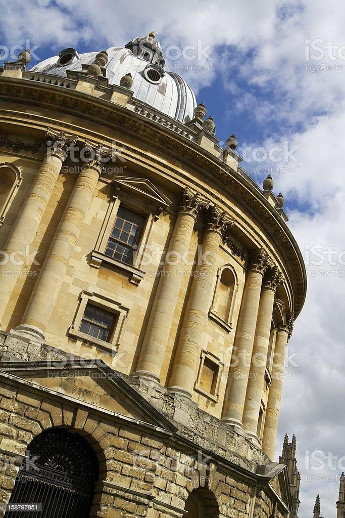 The Radcliffe camera, Oxford, United Kingdom royalty-free stock photo