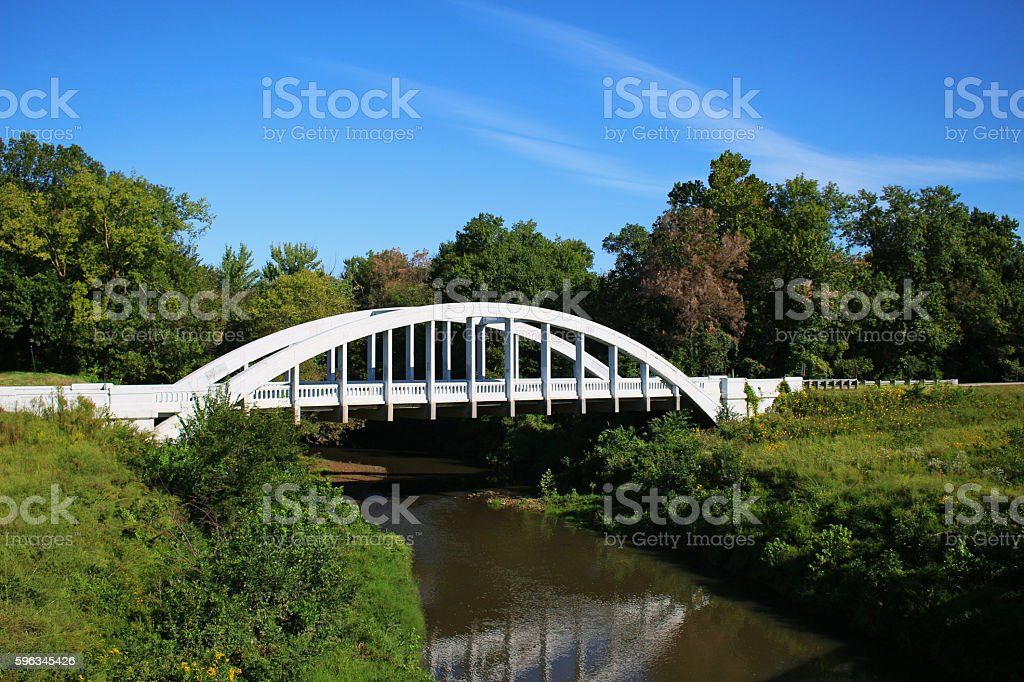 Die Rainbow Bridge Lizenzfreies stock-foto