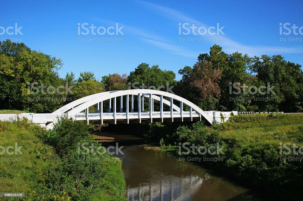 The Rainbow Bridge stock photo