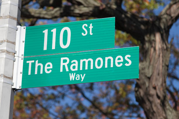 the ramones way - punk music stock photos and pictures