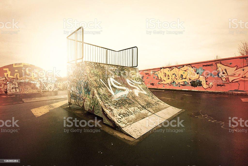 The ramp royalty-free stock photo