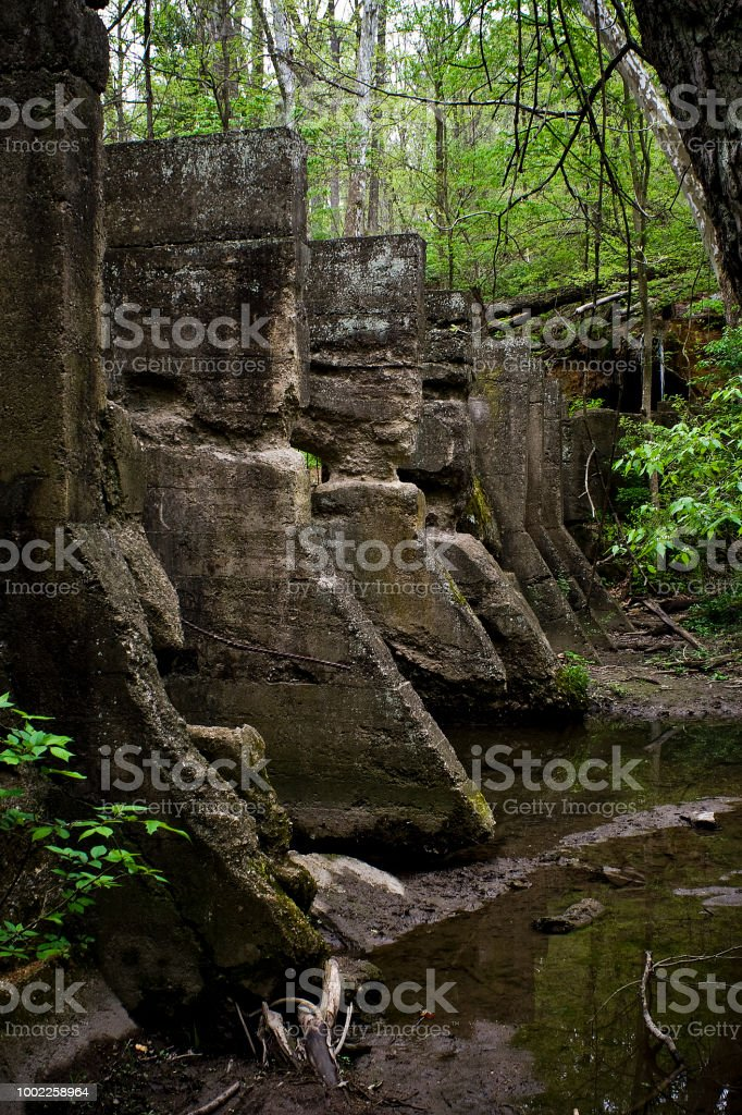 The Ramparts have Fallen stock photo
