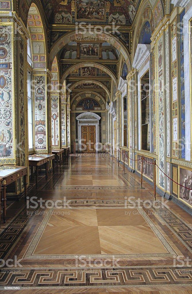The Raphael Loggias. State Hermitage stock photo
