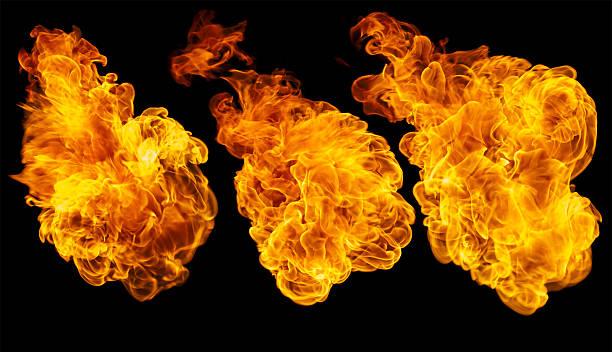 die rapid oxidation - feuerkugel stock-fotos und bilder