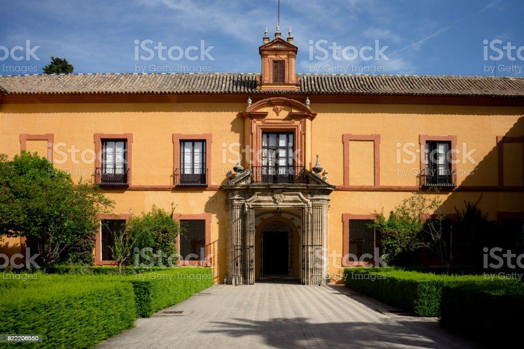 Sevilla, España - 19 de junio: El real Alcázar, Sevilla, España en 19 de junio de 2017. - foto de stock