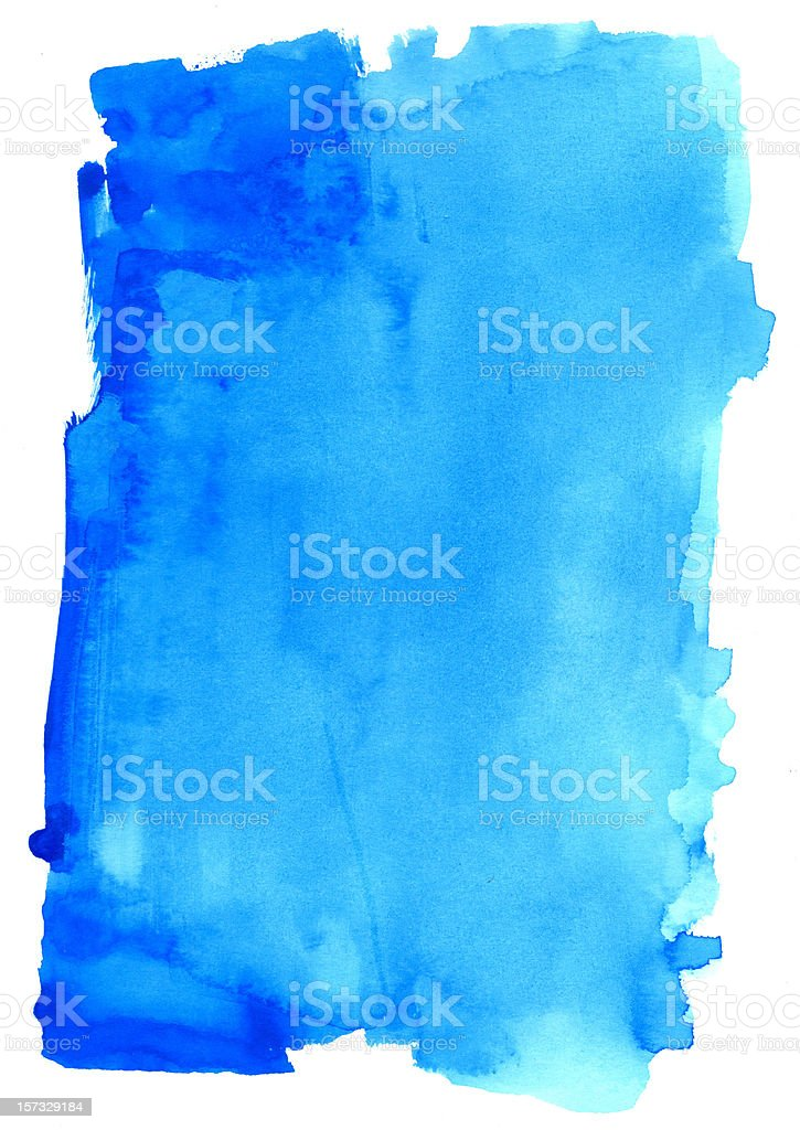 The Real Blue Frame stock photo