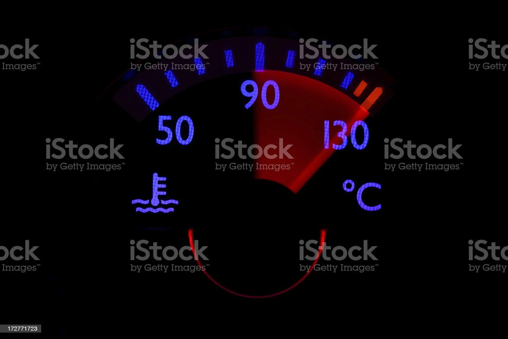 The Real Danger: Overheating stock photo