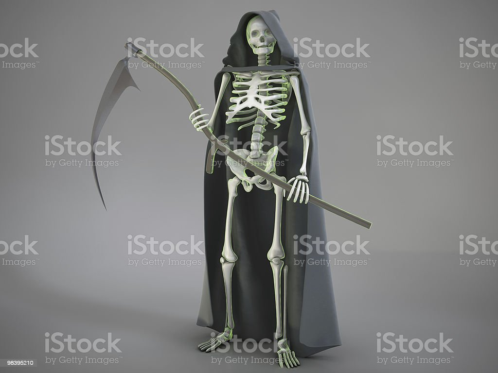 the reaper royalty-free stock photo