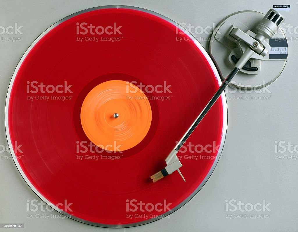 the red album royalty-free stock photo
