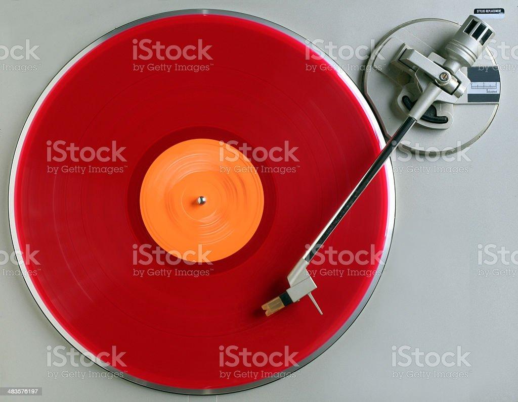 the red album stock photo