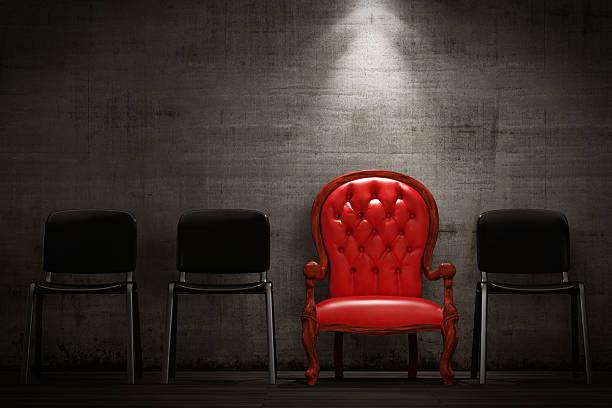 Die rote Sessel – Foto
