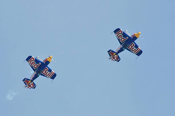 The Red Bull Matadors stock photo