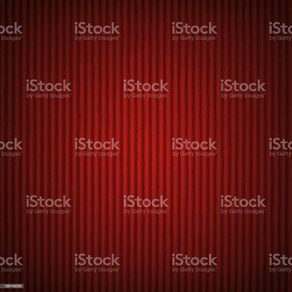 The red cardboard background stock photo