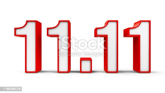 istock The Red Eleventh of November 1186588225